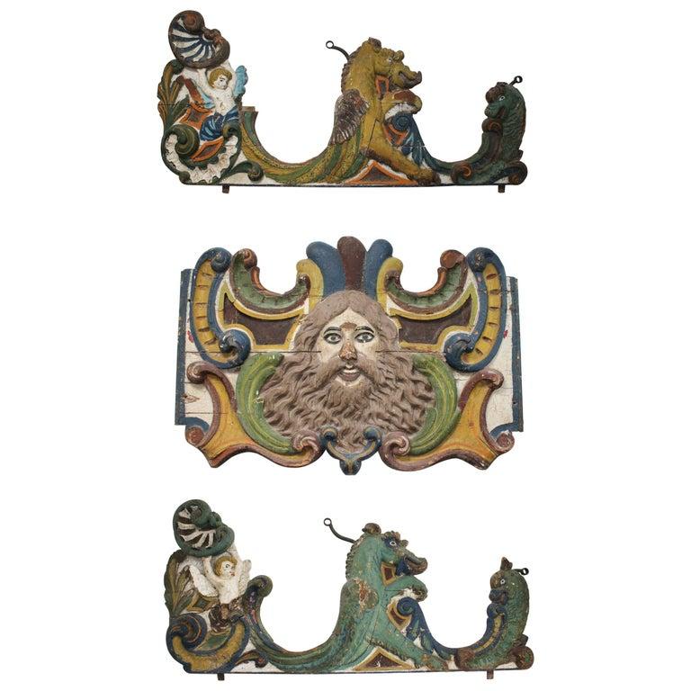 Carrusel del Norte y Paneles Laterales, del Siglo XIX