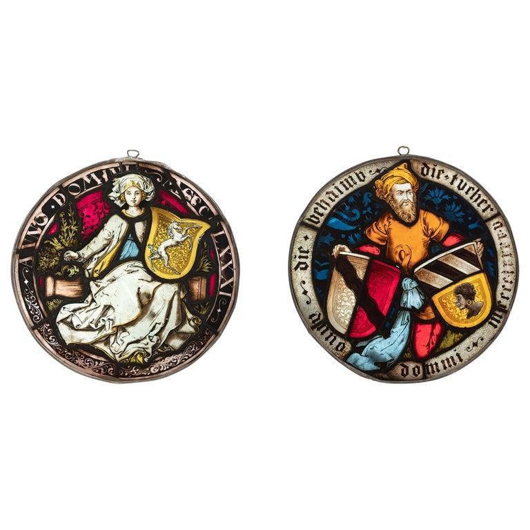 Escudo de Armas de Una Vidriera Atribuido a Peter Hemmel de Andlau, 1481 y 1495